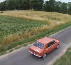Oldtimer video gemaakt met drone